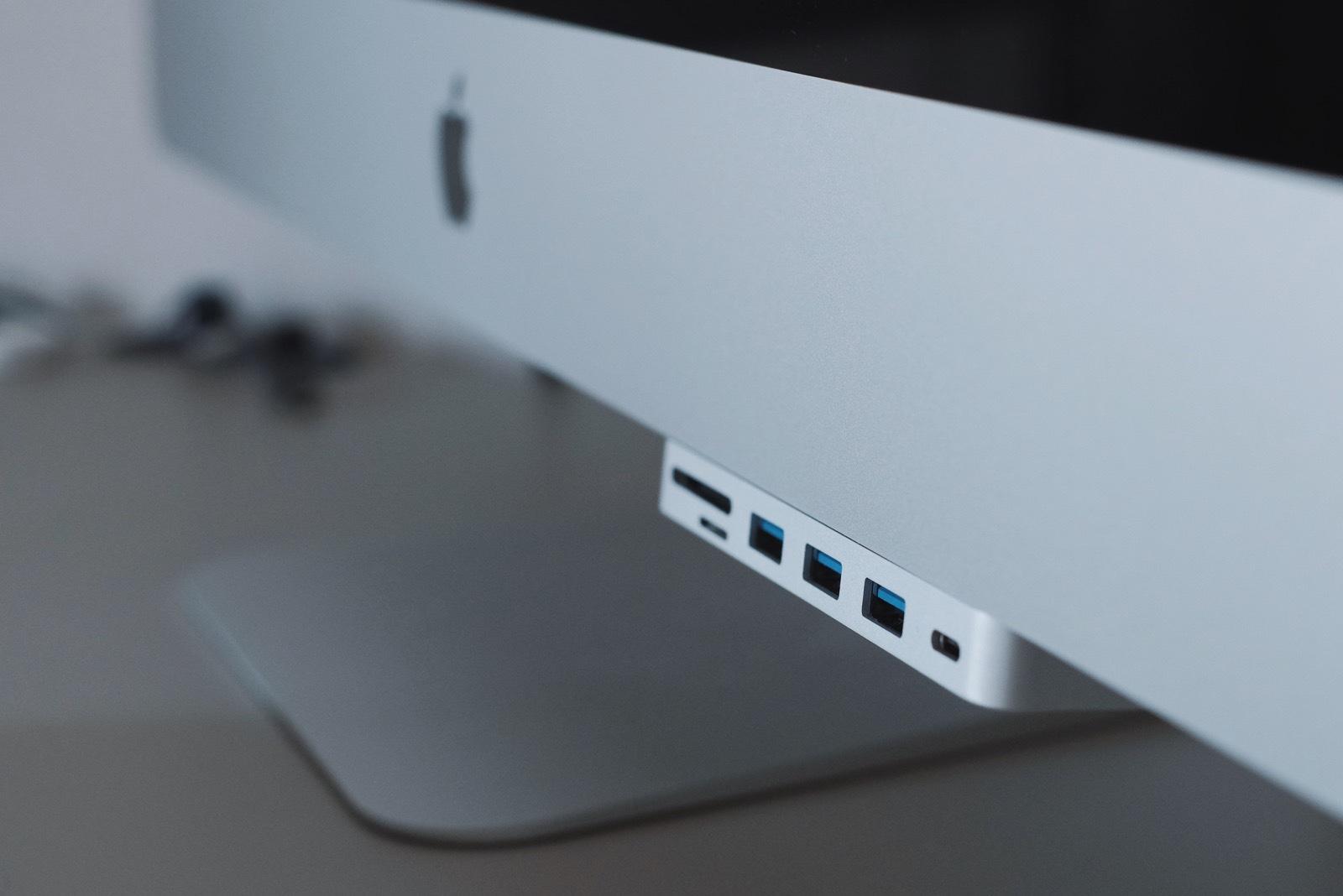SatechiのiMac用USB-Cハブ買いました。背徳感がすごい。